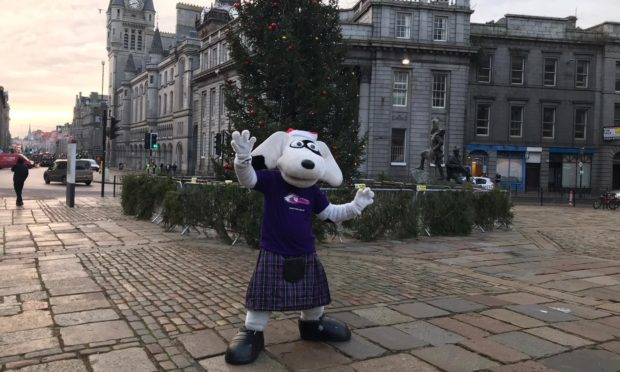 The VSA Christmas appeal was launched at the Castlegate