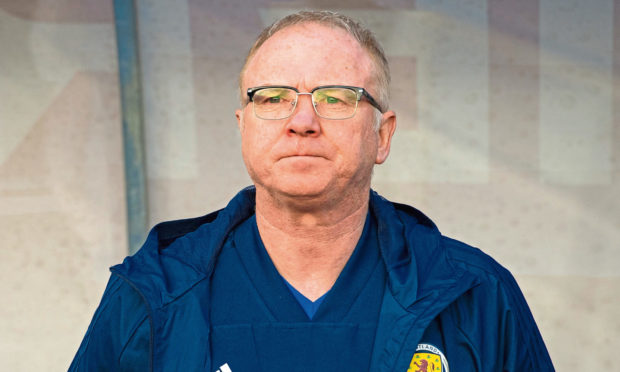 Alex McLeish in his second spell as Scotland boss.