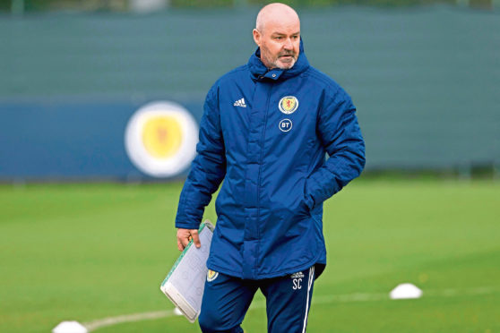 Scotland boss Steve Clarke has drilled his players in the back three system he wanted them to play.