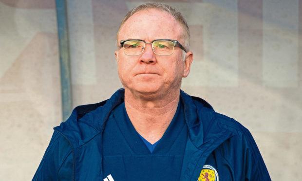 Former Scotland manager Alex McLeish.