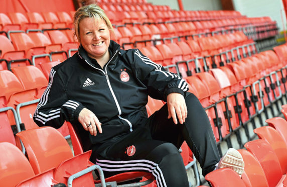 Emma Hunter took over at Aberdeen in 2018.