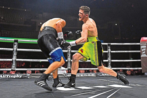John Docherty defeating Wilmer Gonzalez in the first round.