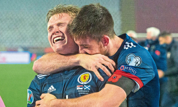 You could see what qualification meant for Scotland players like Scott McTominay after the game.