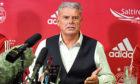 Aberdeen FC chairman Dave Cormack