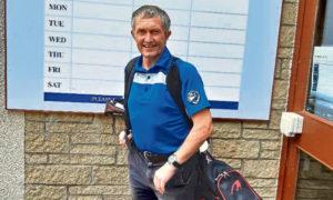 Cullen Golf Club captain David Sellar.