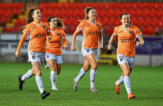 Glasgow City - the reigning SWPL champions.
