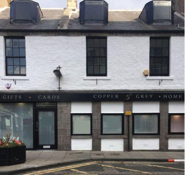 Copper & Grey on Chapel Street, Aberdeen