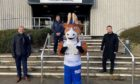 Active Schools Aberdeenshire mascot Archie