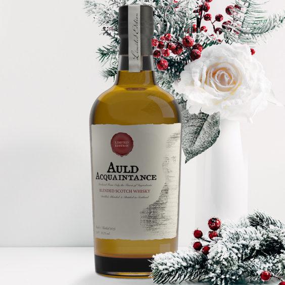 Auld Acquaintance Whisky.