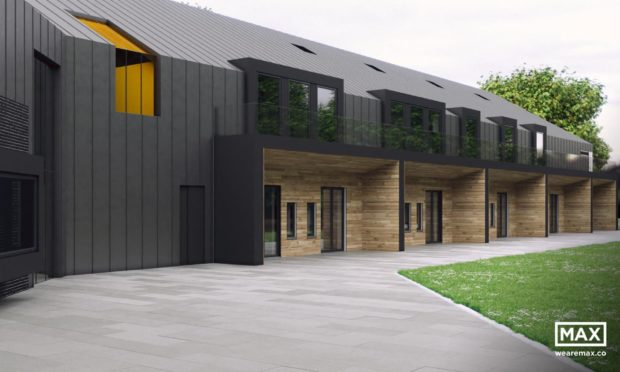 New artists impressions of what Charlie House's specialist support centre might look like.