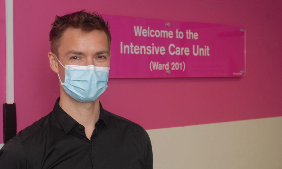 Lee Allen, consultant in critical care