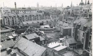 1952: The Denburn area in 1952 before it got demolished.