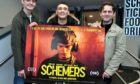 Schemers cast members,  Conor Berry, Sean Connorand Grant R Keelan