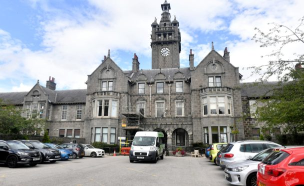 Woodend hospital in Aberdeen
