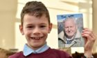 Rory Sorrie received a signed photo from David Attenborough.
