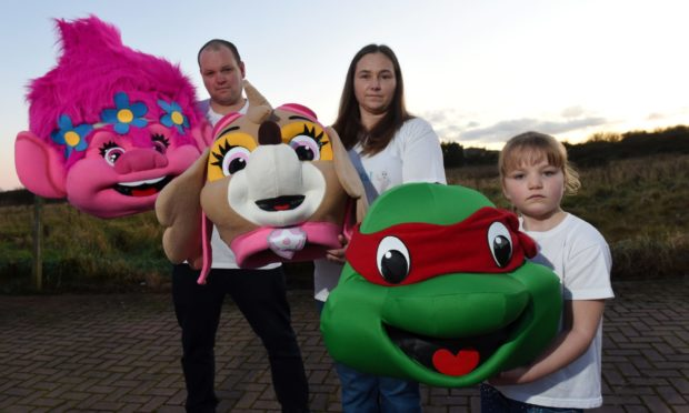 Claire Harris runs Mascot Rental Aberdeen with her partner Ryan Coutts.