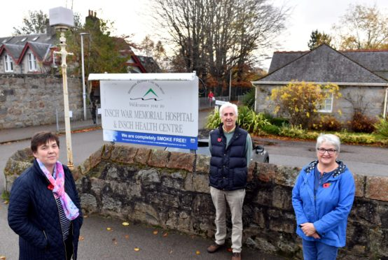 Friends of Insch Hospital have campaigned to save it.