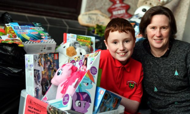 Zak Graham is collecting gifts for the Instant Neighbour Giving Tree Appeal.