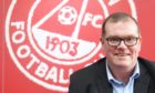 Aberdeen FC commercial director Rob Wicks.  Picture by Chris Sumner