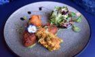 8848 Nepalese and Indian Restaurant's Haggis Pakora starter