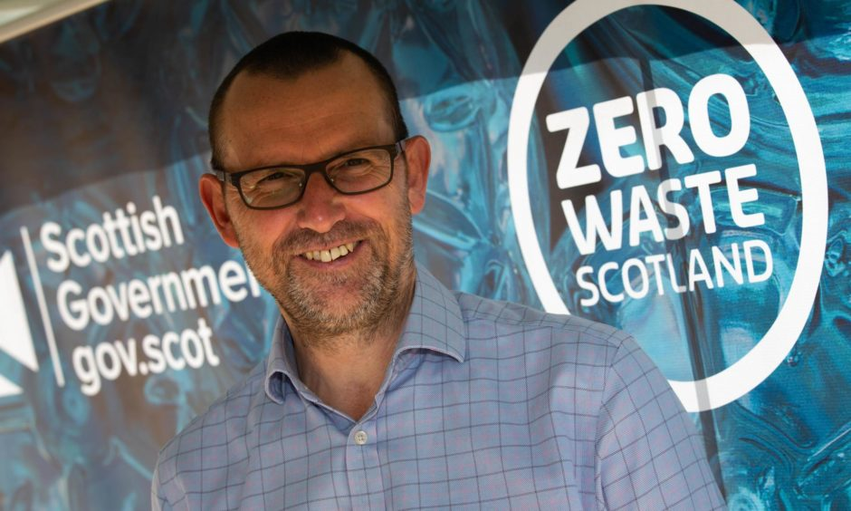 Ian Gulland, chief executive of Zero Waste Scotland.