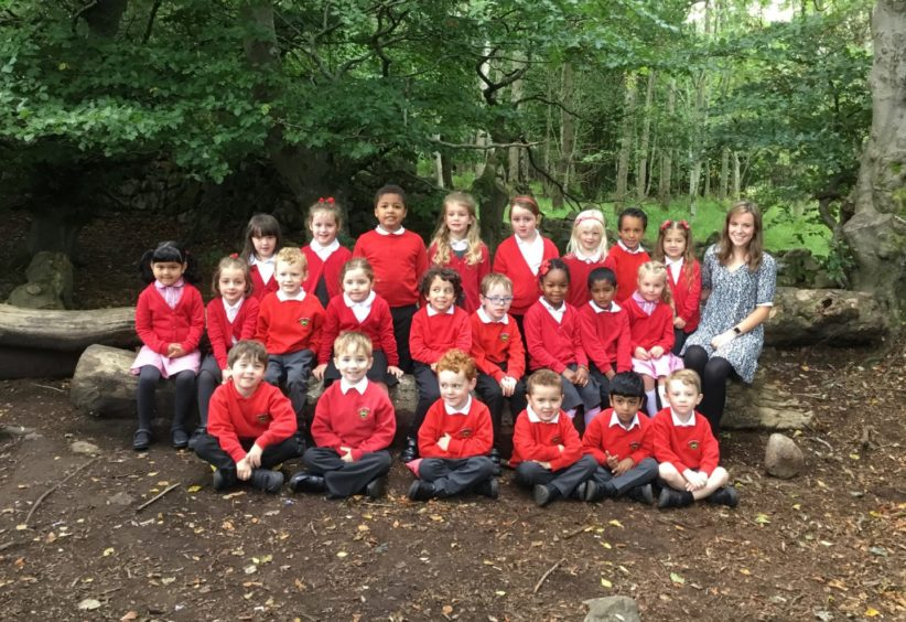 Kingswells Primary: P1 with Miss Palmer