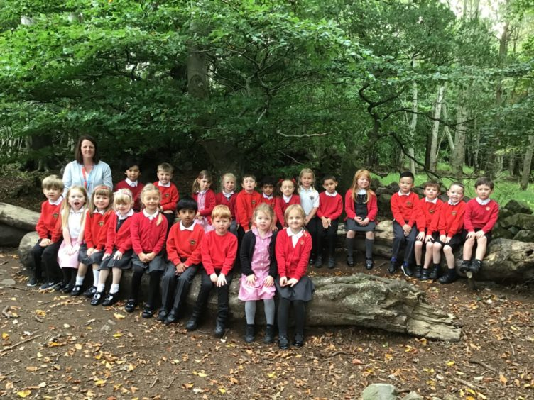 Kingswells Primary: P1 with Mrs Rose