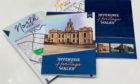 The new guides for Inverurie's heritage trail