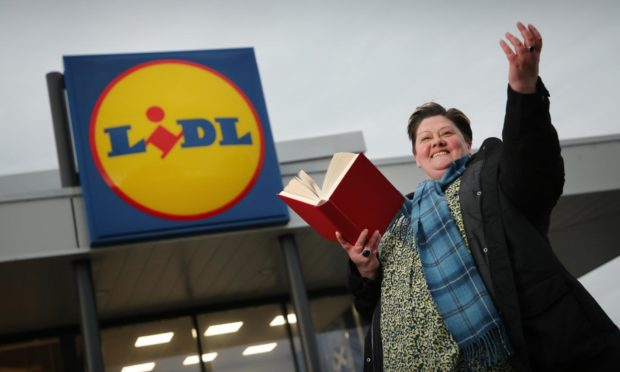Poet Jo Gilbert has teamed up with Lidl.