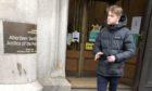 Ryan Murdoch leaving court.