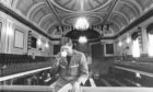 1986: Doric Construction joiner Richard Murdo (21) of Malcolm Road, Culter, takes a well-earned tea break in the plush surroundings of the refurbished Music Hall.