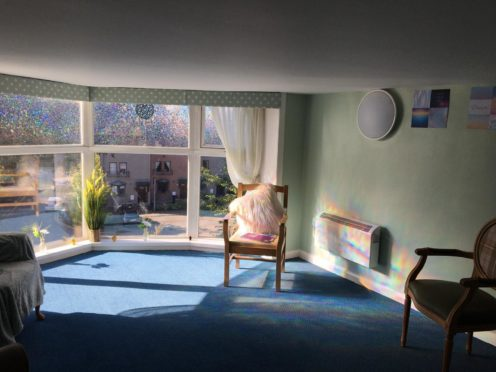 The namaste room at Cowdray Club Care Home for staff