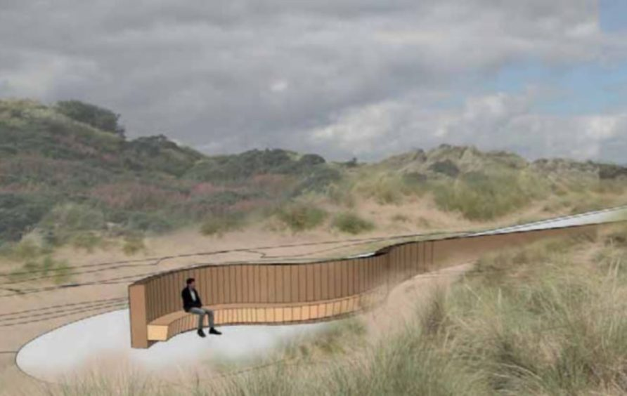 Councillors have back plans for the new viewpoint at Newburgh.