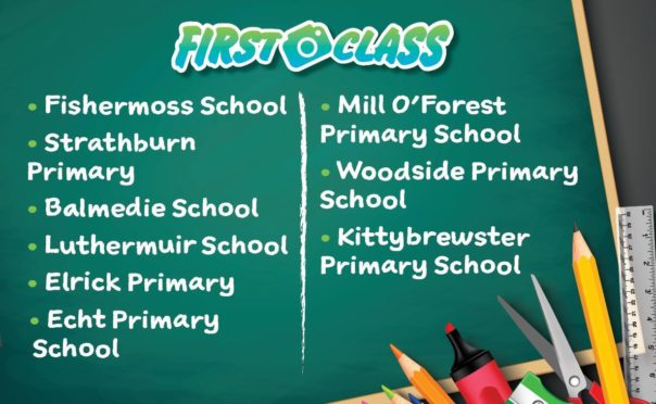 First Class 2020: All the primary one pictures featured on Monday November 9