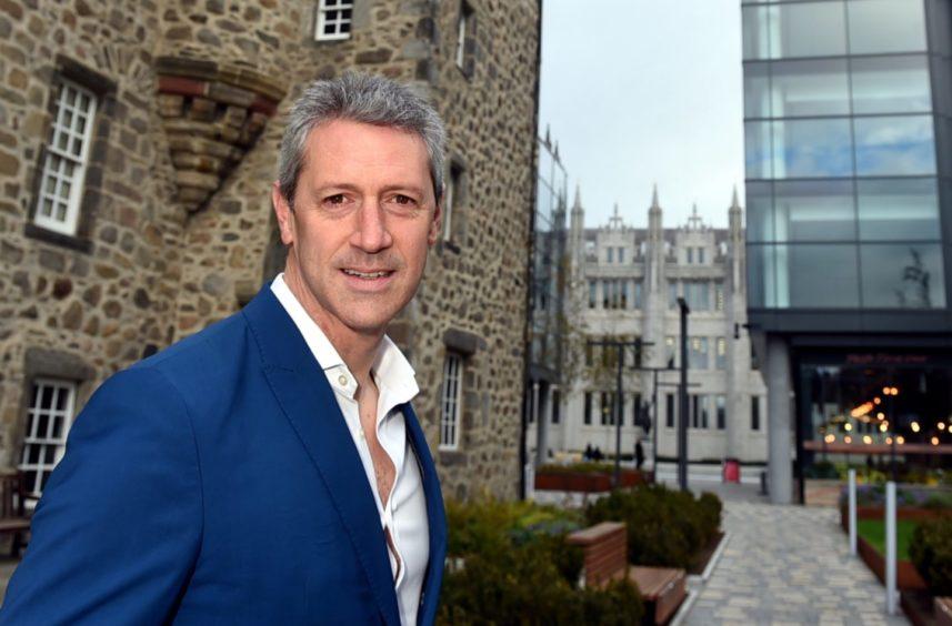 Visit Aberdeenshire chief executive Chris Foy
