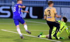 Mitch Megginson scoring for Cove. Picture by Chris Sumner