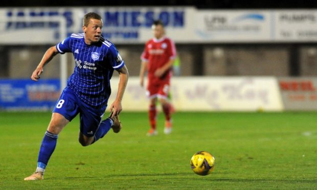 Peterhead's Scott Brown is hoping they can reach the last 16 of the League Cup