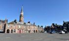 The Market Square in Stonehaven