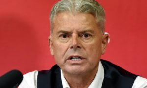Aberdeen great Willie Garner has trust in chairman Dave Cormack's plan to deliver a new manager