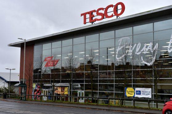 Tesco on Rousay Drive, Aberdeen.