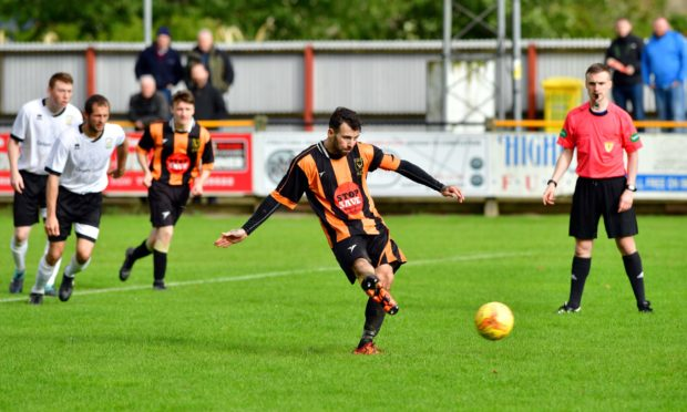 Gary McGowan has returned for a fifth spell with Huntly