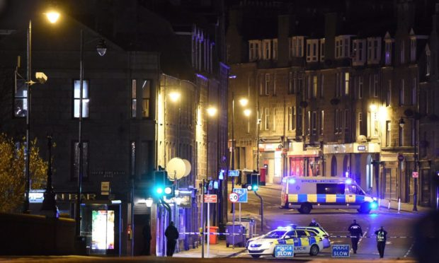 Ongoing incident on Sinclair Road, Aberdeen.
