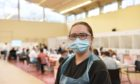 Aberdeen university medical student ily Delamare has volunteered to help at the new testing centre.