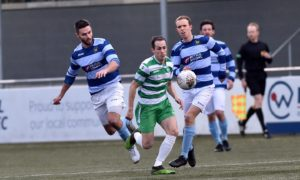 Banks o' Dee lost out 2-1 to Highland League Buckie Thistle in the previous round.  Picture by Scott Baxter