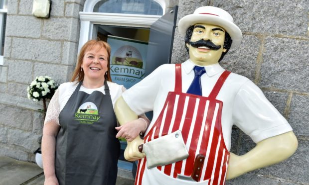 Kemnay Farm Shop owner Michelle Clark.