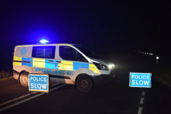 A fundraising page has been launched to help a family who were involved in a crash on the A90.