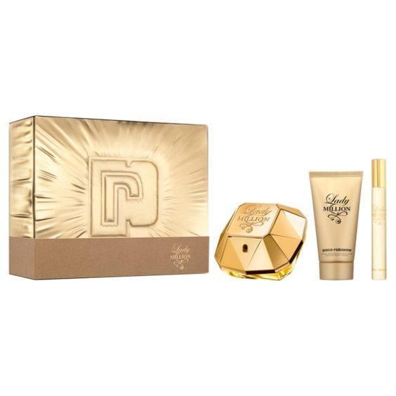 Paco Rabanne Lady Million EDP 50ml Gift Set - Superdrug