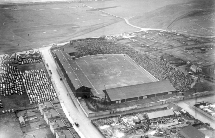 Hibs once considered relocating to Aberdeen and playing at Pittodrie.