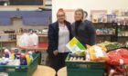 Volunteers from the community larder in Portlethen have thanked the public for their donations.