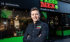 Robbie Moult who runs Fresh Mex in Aberdeen.